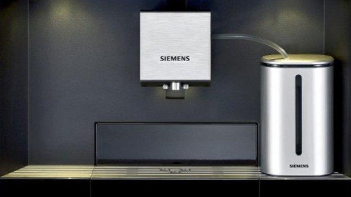 Siemens pojemnik na mleko. Przyjaciele Kawy