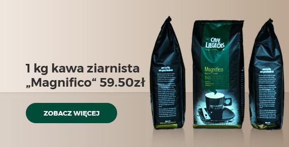 "Kawa ziarnista Café Liégeois ""Magnifico"", 1 kg"