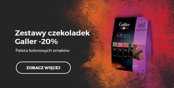 Zestawy czekoladek Galler -20%