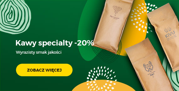 Kawy specialty - 20%