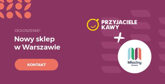Nowy sklep w Warszawie
