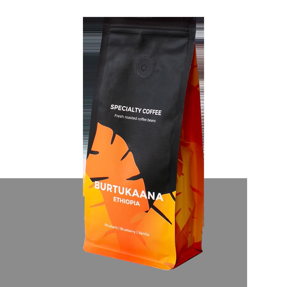 """Wysokogatunkowa kawa ziarnista """"Ethiopia Burtukaana"""", 250 g"""