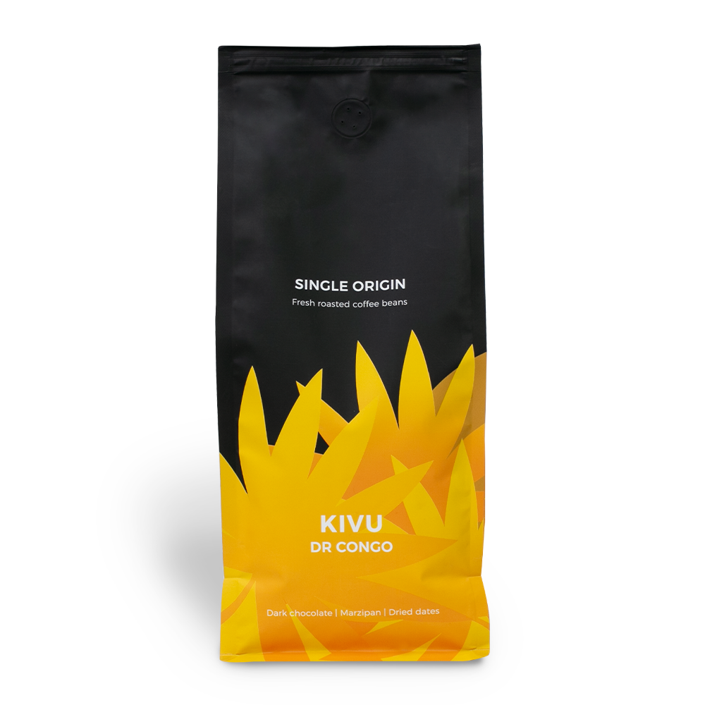 "Kawa ziarnista jednorodna ""DR Congo Kivu"", 1 kg"