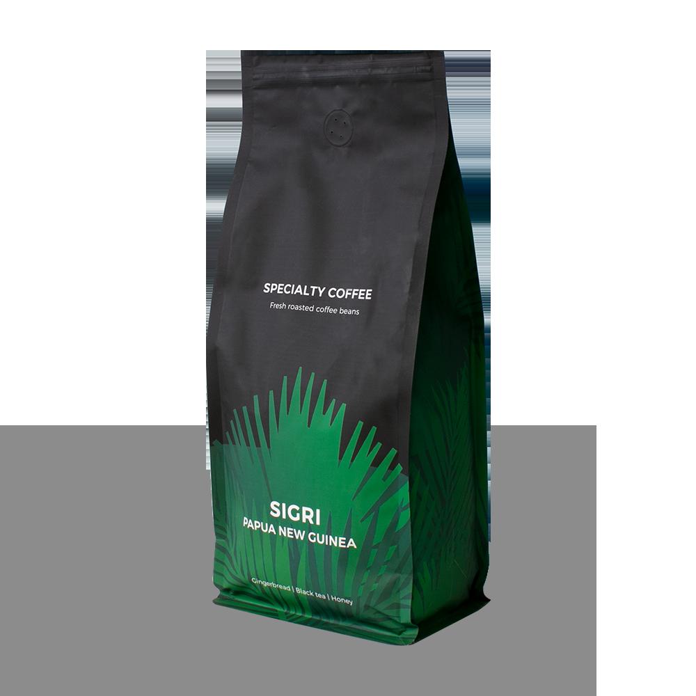 """Wysokogatunkowa kawa ziarnista """"Papua Nowa Gwinea Sigri"""", 1 kg"""