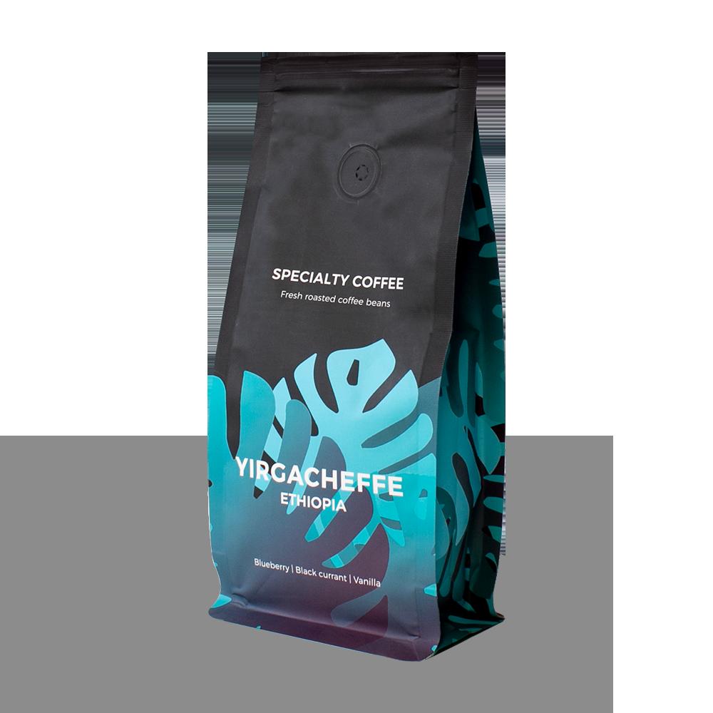 "Wysokogatunkowa kawa ziarnista ""Ethiopia Yirgacheffee"", 250 g"