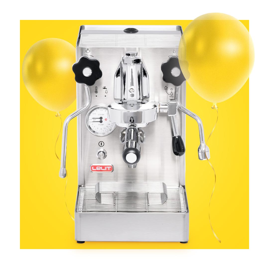 Ekspres do kawy LELIT + kupon o wartości 450 zł