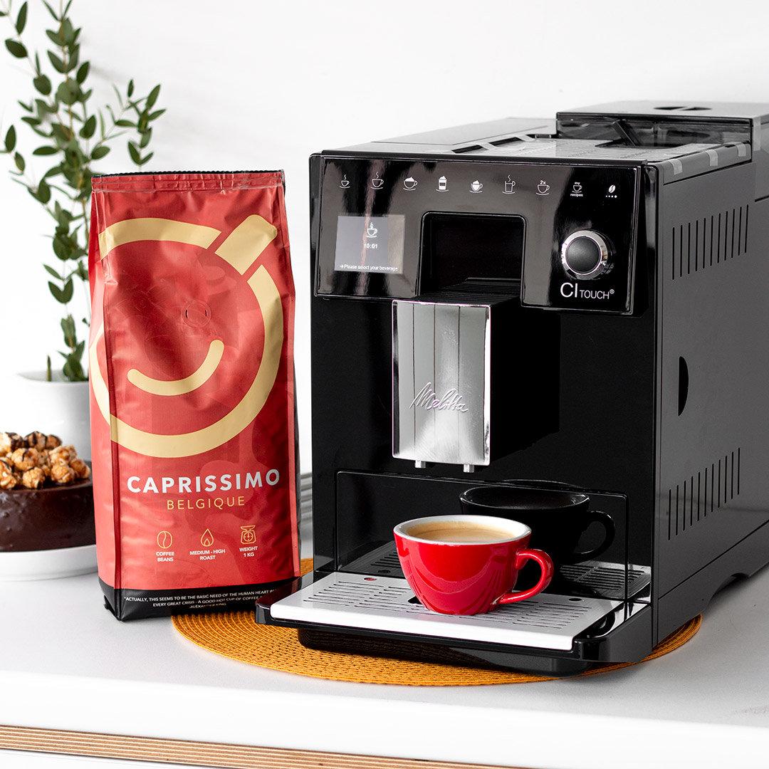 Automatyczny ekspres do kawy + 1 kg kawy w prezencie