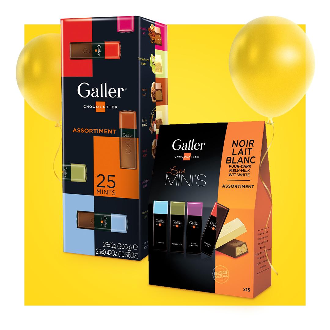 Czekolady Galler -25%