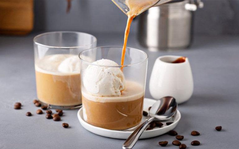 Lody domowe z kawą