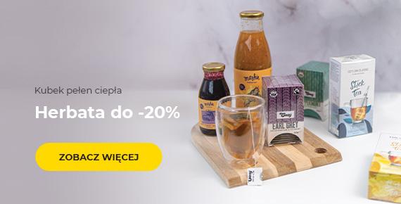 Herbata do -20%