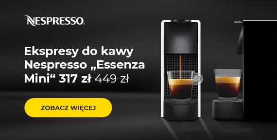 """Ekspresy do kawy Nespresso """"Essenza Mini"""" 317 zł"""