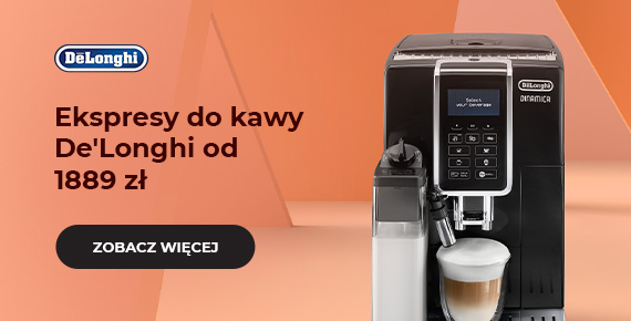 Ekspresy do kawy De'Longhi od 1889 zł