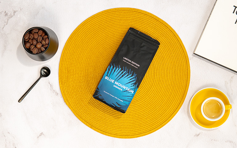 "Kawa ziarnista specialty ""Jamaica Blue Mountain"""