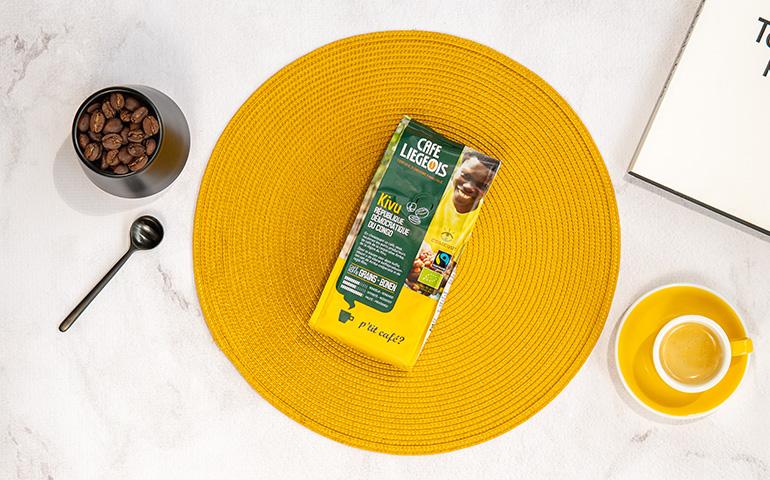 "Organiczna kawa ziarnista Café Liégeois ""Kivu"""