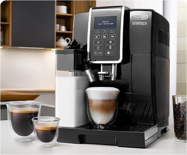 10 napojów kawowych za naciśnięciem przycisku