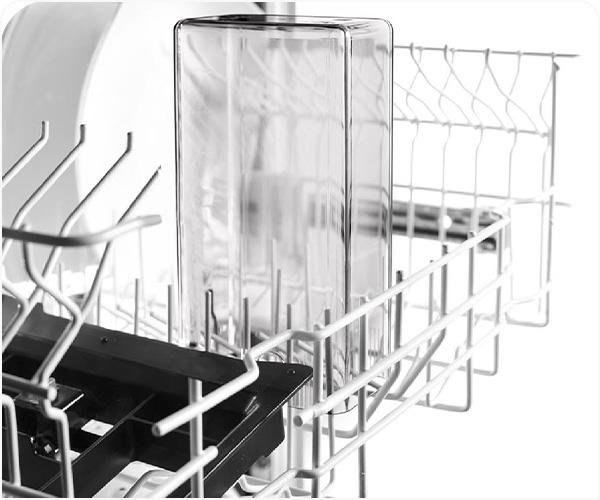 Wszystkie elementy systemu mlecznego nadają się do mycia w zmywarce
