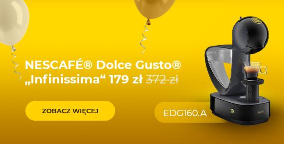 """Ekspres do kawy NESCAFÉ® Dolce Gusto® """"Infinissima EDG 160.A"""" tylko 179 zł"""