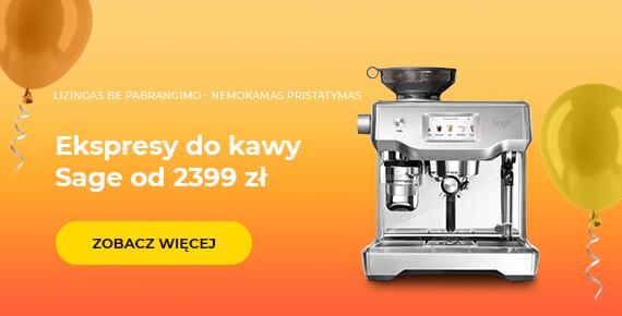 Ekspresy do kawy Sage od 2399 zł