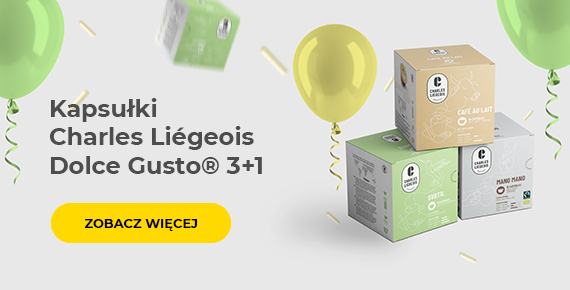 Kapsułki Charles Liégeois Dolce Gusto® 3+1