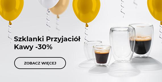 Szklanki Przyjaciół Kawy -30%