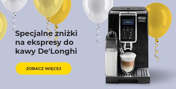 Specjalne zniżki na ekspresy do kawy De'Longhi