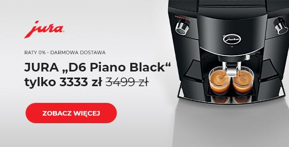 "JURA ""D6 Piano Black"""
