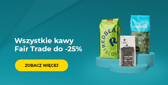 Wszystkie kawy Fair Trade do -25%
