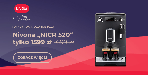 """Nivona """"NICR 520"""" tylko 1599 zł 1699 zł"""