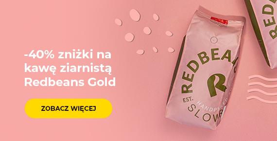 Kawa ziarnista Redbeans Gold -40%