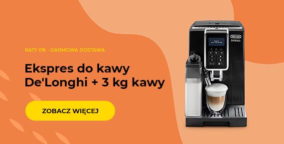 Ekspres do kawy De'Longhi + 3 kg kawy