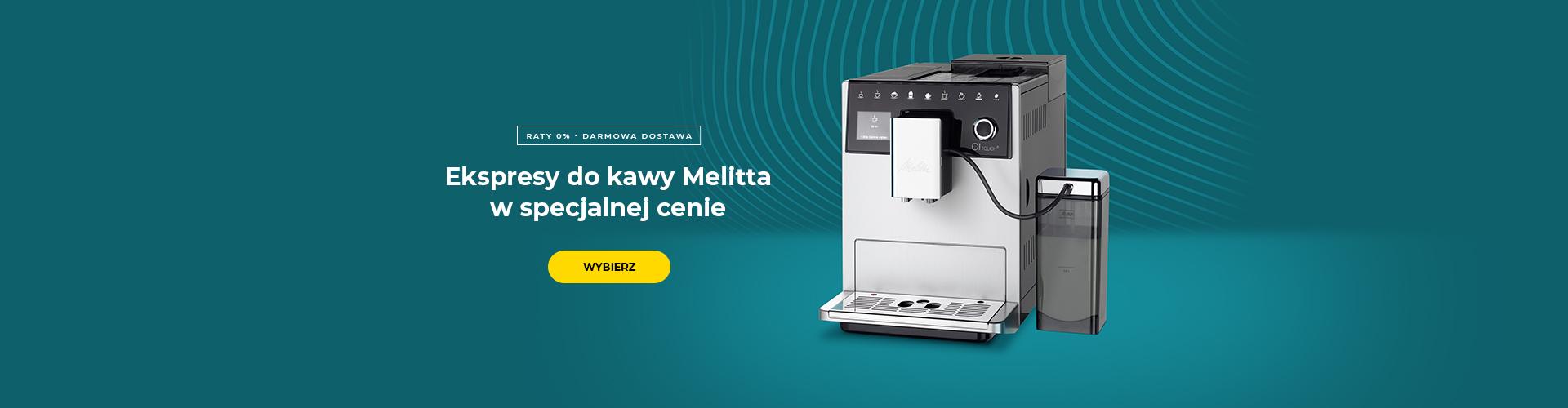 Ekspresy do kawy Melitta w specjalnej cenie