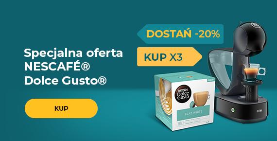 Specjalna oferta NESCAFÉ® Dolce Gusto®