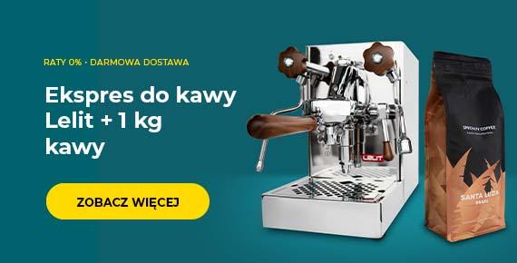 Ekspres do kawy Lelit + 1 kg kawy