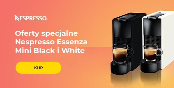 Oferty specjalne Nespresso Essenza Mini Black i White