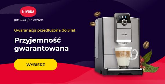 3 lata przedłużonej gwarancji na ekspresy do kawy Nivona!
